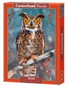 Puzzle Great Horned Owl 500 online polish bookstore