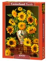 Puzzle 1000 Sunflowers in a Peacock Vase buy polish books in Usa
