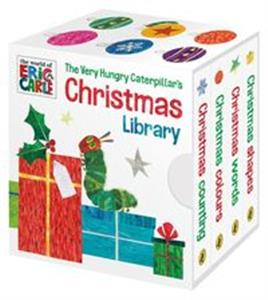 The Very Hungry Caterpillar's Christmas Library pl online bookstore