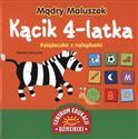 Mądry Maluszek Kącik 4-latka Książeczka z nalepkami  pl online bookstore
