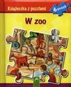 Książeczka z puzzlami W zoo 6 puzzli polish usa