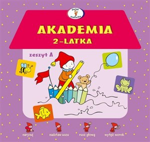 Akademia 2-latka Zeszyt A books in polish