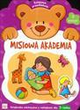 Misiowa Akademia zeszyt 3 Książeczka edukacyjna z naklejkami dla 3-latka