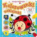 Kolorowanki naklejanki 5 Wesoła biedronka  buy polish books in Usa