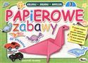 Papierowe zabawy 3 Koloruj składaj naklejaj to buy in USA