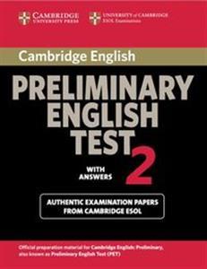 Cambridge Preliminary English Test 2 Student's Book with Answers Polish bookstore