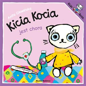 Kicia Kocia jest chora books in polish