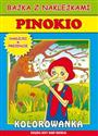 Pinokio Bajka z naklejkami buy polish books in Usa