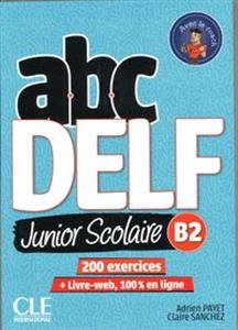 ABC DELF B2 junior scolaire ks+DVD+zawartość online chicago polish bookstore
