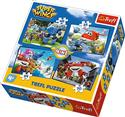 Puzzle Super Wings Odlotowa paczka 4 w 1 to buy in USA